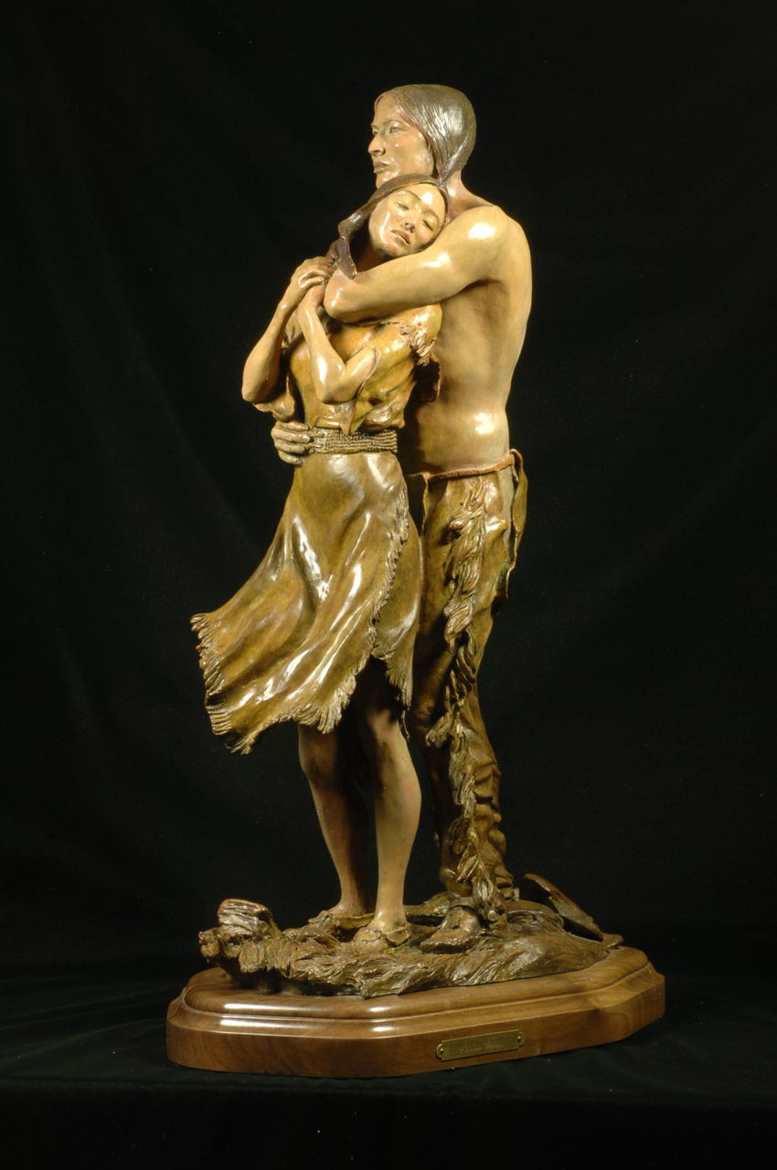 Native American Sculpture Christine Knapp Indian Fine Art