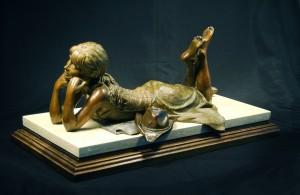 Missin Him Sculpture Bronze