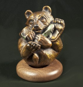 Bear Bronze Art Animal Wrappers