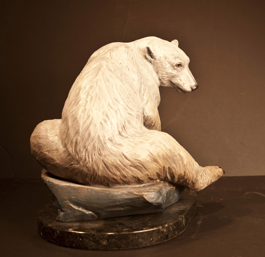 Bear Sculpture-Christine Knapp-bearly2
