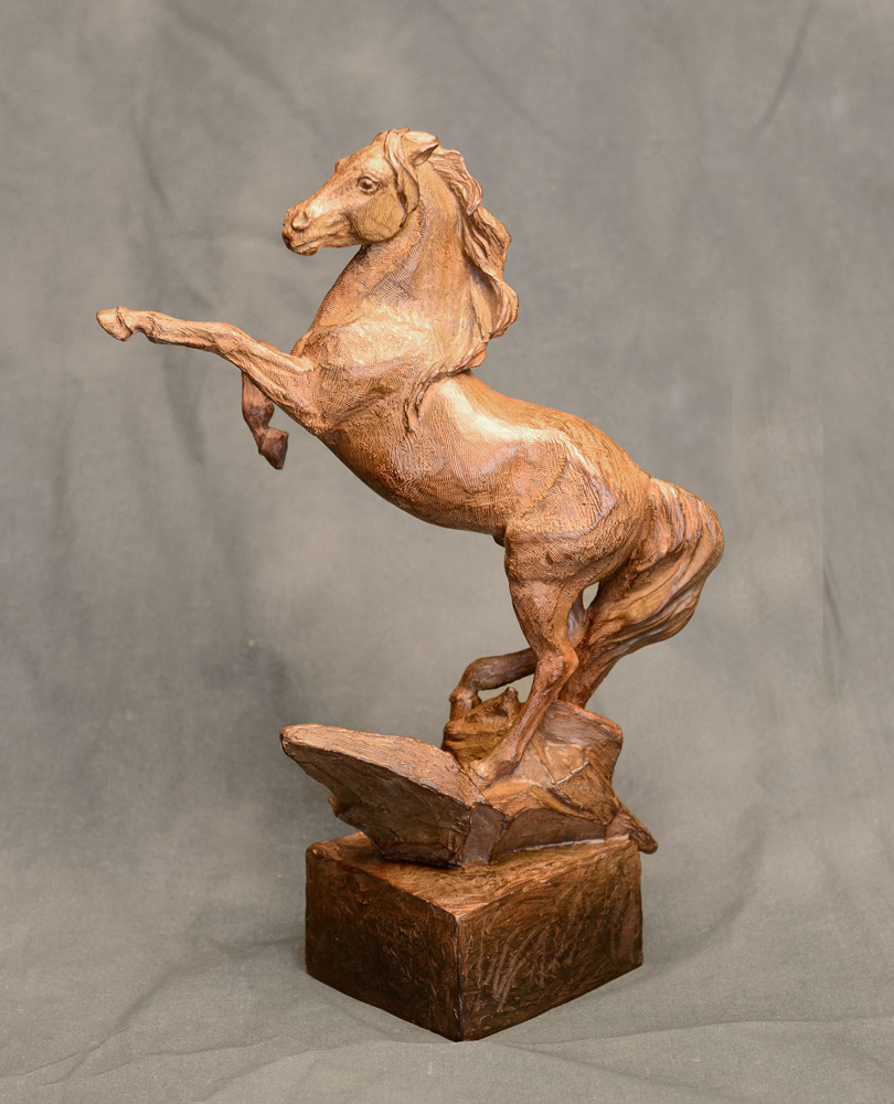 Horse Sculpture-Christine Knapp-Free-Spirit