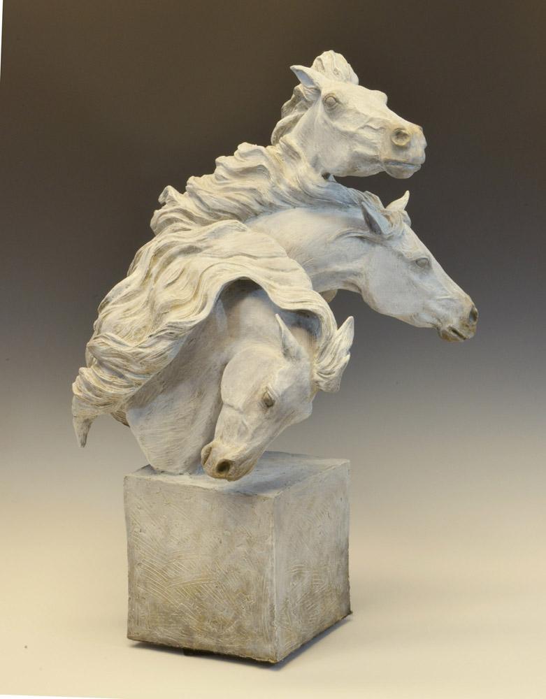 Horse Sculpture-Christine Knapp-Joie