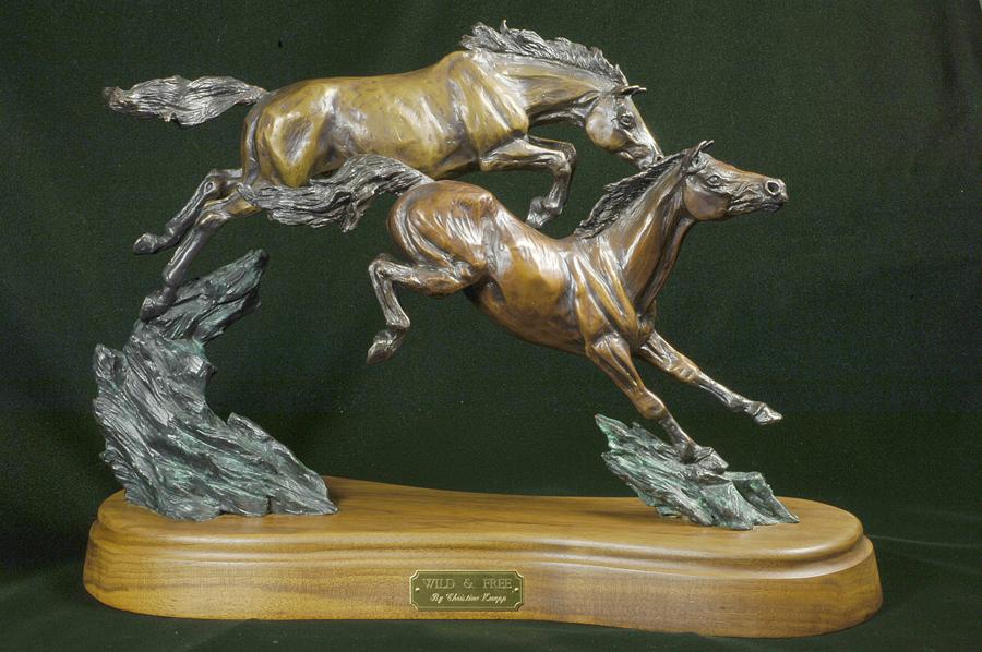 Horse Sculpture-Christine Knapp-Wild1