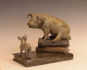 pigs-Christine Knapp-Pig Tales