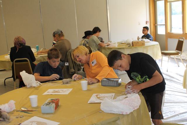 At SKB Workshop