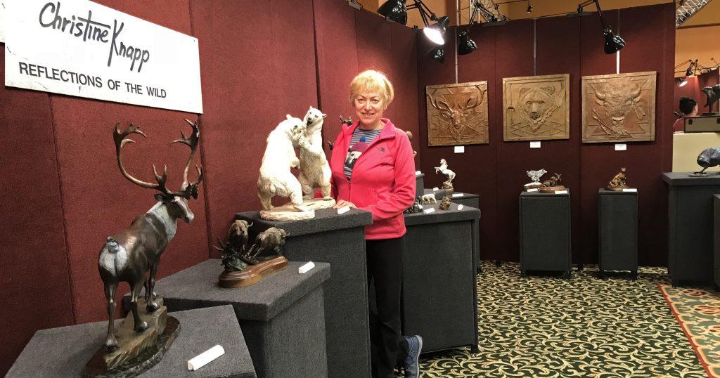 NatureWorks Art Show and Sale - Christine Knapp Sculpture