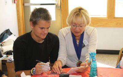 Mentor day at the Susan K Black Foundation